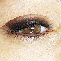 Eyeliner dégradé poudré
